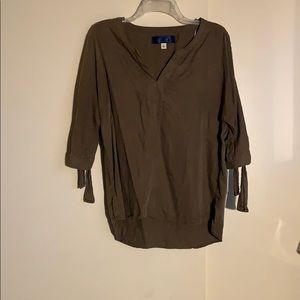 Open sleeve shirt